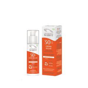 Protector solar para cara facial protección alta