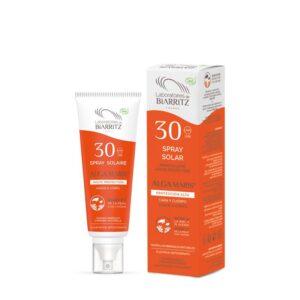 Spray solar protección alta para cara y cuerpo